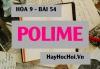 Polime là gì? Ứng dụng của Polime (chất dẻo, tơ và cao su) - Hóa 9 bài 54